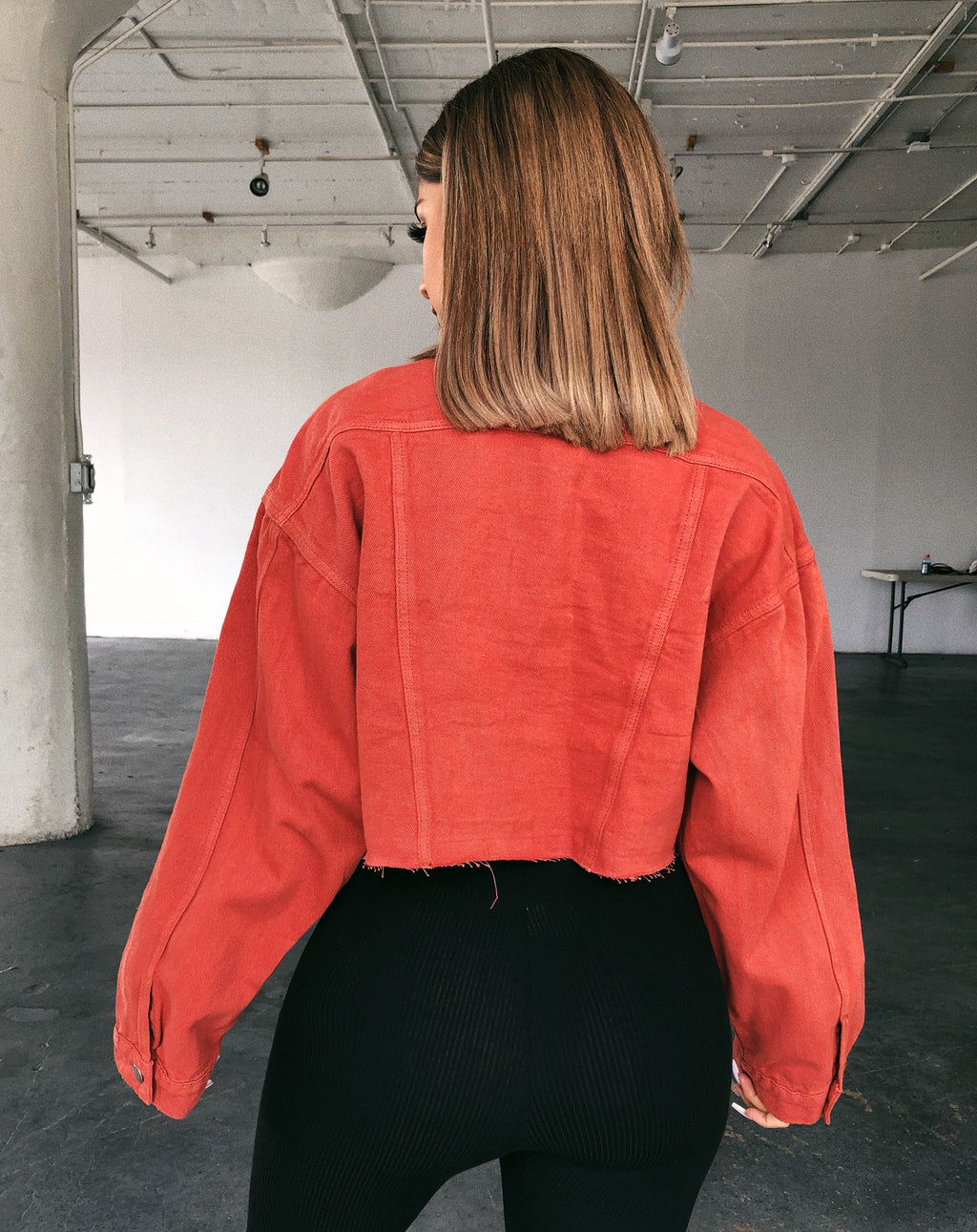 Bobby Cropped Jacket(Copper)