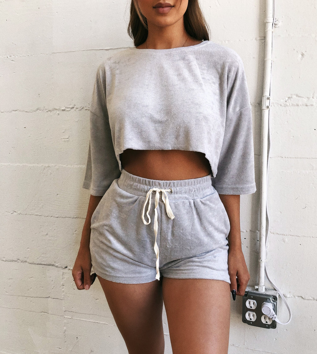 Sammy Basic Matching Set(Grey)
