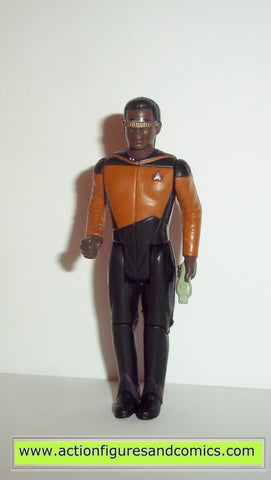 Star Trek GEORDI LAFORGE correct uniform CUSTOM galoob toys action figures