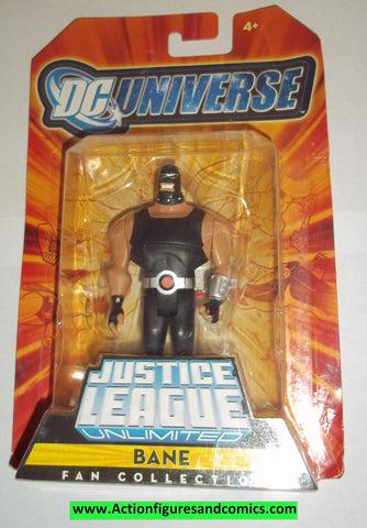 justice league unlimited BANE batman dc universe action figures mattel toys moc mip mib