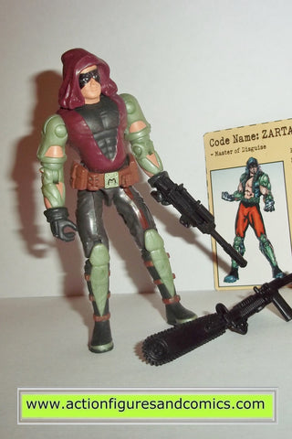 gi joe ZARTAN 2002 v5 gijoe vs cobra action figures hasbro toys