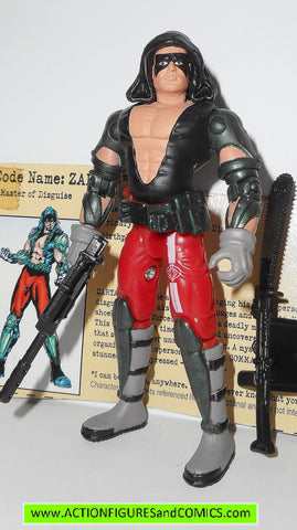 gi joe ZARTAN 2002 v4 g.i joe vs cobra action figures