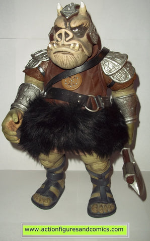 star wars action figures GAMORREAN GUARD 12 inch 2002 attack of the clones saga hasbro toys action figures