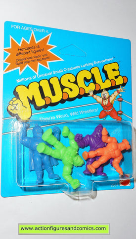 Muscle m.u.s.c.l.e men kinnikuman 4 pack moc COLOR CLASS B mattel action figures