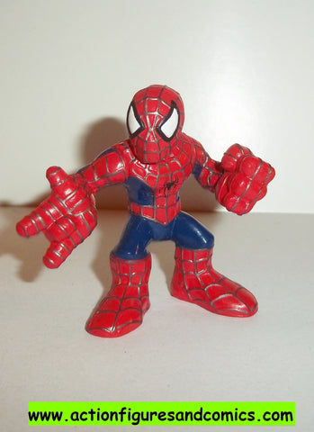 Marvel Super Hero Squad SPIDER-MAN complete movie pose pvc action figures