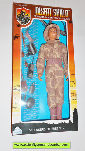 Gi joe vintage retro compatible 12 inch DESERT SHIELD SCOUT 1991 moc mib mib