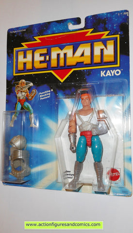 Masters of the Universe KAYO KO 1990 he-man new adventures mattel toys action figures moc mip mosc