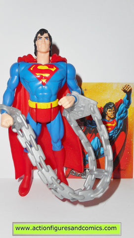 Superman Man of Steel POWER FLIGHT SUPERMAN 1995 Kenner toys action figures