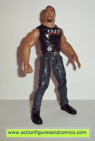 Wrestling WWE action figures FAROOQ RON SIMMONS jakks pacific toys wwf wcw