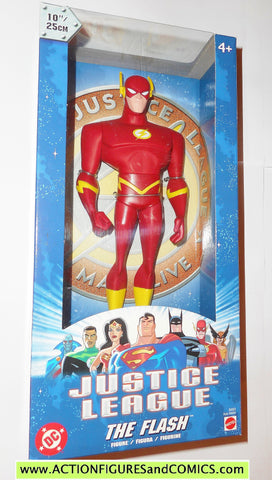 justice league unlimited FLASH 10 INCH 2003 dc universe action figures moc mib