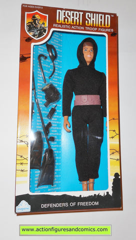 Gi joe vintage retro compatible 12 inch DESERT SHIELD NAVY SEAL 1991 moc mib mib