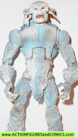 marvel legends SASQUATCH white variant apocalypse series toy biz action figures