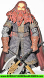 Lord of the Rings GIMLI CORONATION 2004 toy biz complete dwarf movie