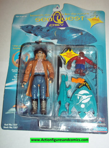 SeaQuest DSV action figures THE REGULATOR LESLIE FERINA 1993 playmates toys moc mip mib