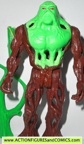 Swamp Thing CAMOUFLAGE BRIGHT GREEN kenner toys action figure 1990 DC universe