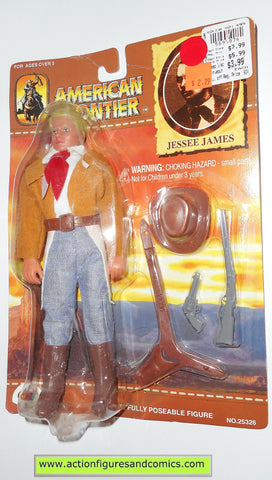 American Frontier Mego style retro JESSEE JAMES DSI toys 8 inch action figures