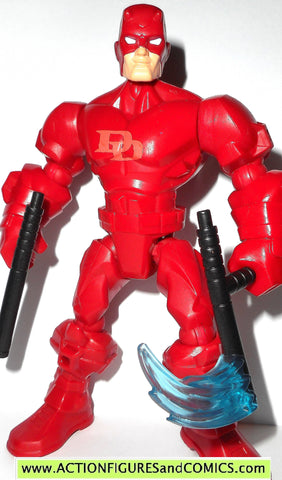 Marvel Super Hero Mashers DAREDEVIL 6 inch universe action figure
