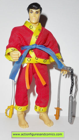 marvel super heroes toy biz SHANG CHI masters of kung fu action figures