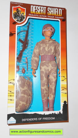 Gi joe vintage retro compatible 12 inch DESERT SHIELD PARATROOPER 1991 moc mib mib