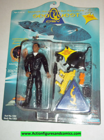 SeaQuest DSV action figures COMMANDER JONATHAN DEVIN FORD1993 playmates toys moc mip mib