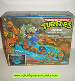 teenage mutant ninja turtles FOOTSKI 1989 vehicle mib tmnt