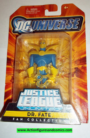 justice league unlimited DR FATE moc mip mib 2008 2009 dc universe jlu dcu mattel new
