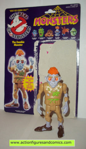 ghostbusters ZOMBIE MONSTER 1986 the real kenner complete full card
