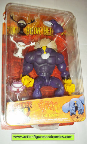 Comic Book Heroes The MAXX max image indie spot light mib moc mip