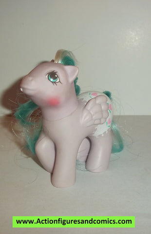 my little pony BABY DOTS N HEARTS 1987 mlp vintage 1988 ponies