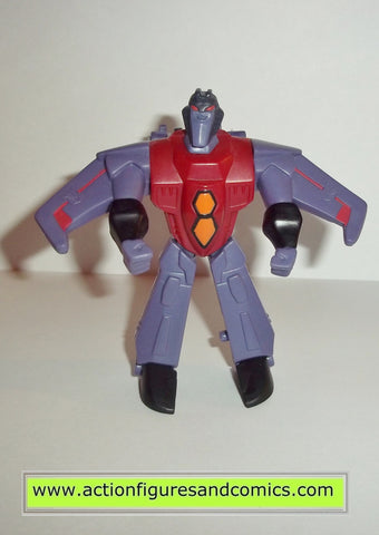 transformers animated STARSCREAM McDonalds complete action figures