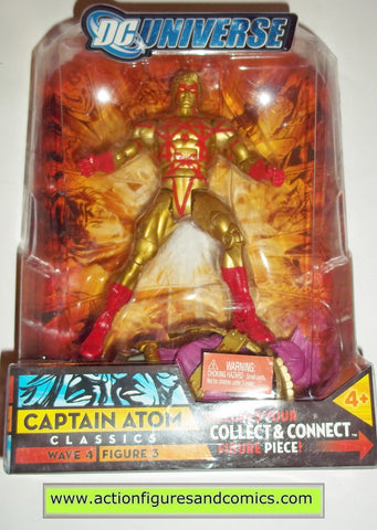Mattel 2007 DC UNIVERSE Classics 6 inch CAPTAIN ATOM gold variant NEW in package moc