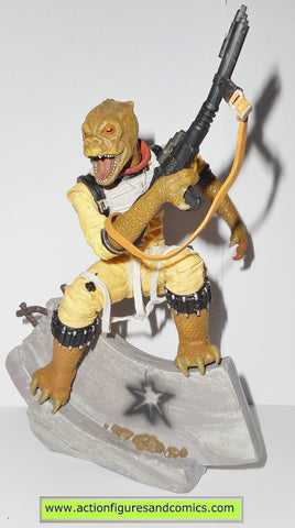star wars action figures Unleashed BOSSK statue hasbro kenner toys