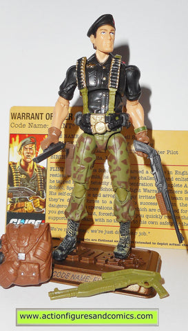 gi joe FLINT 2009 v15 25th anniversary hall of heroes action figures hasbro toys