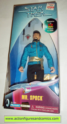 Star Trek SPOCK MR mirror mirror KB toys 9 inch playmates action figures moc mip mib