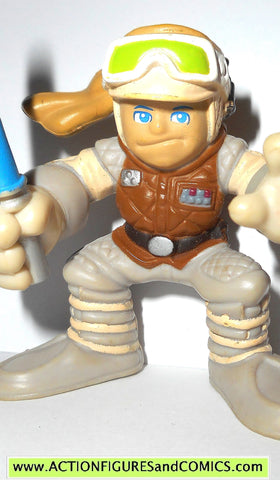 STAR WARS galactic heroes LUKE SKYWALKER hoth empire strikes back action figure