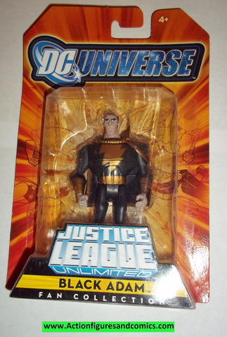 justice league unlimited BLACK ADAM moc mip mib 2008 2009 dc universe jlu dcu mattel new