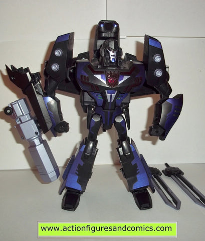 transformers MEGATRON SHADOW BLADE animated complete 2008 leader class action figures