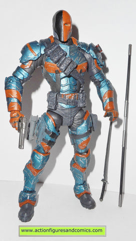 DC direct DEATHSTROKE batman arkham origins universe action figures