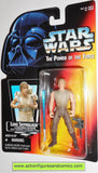 star wars action figures LUKE SKYWALKER DAGOBAH Transition tray power of the force hasbro toys moc mip mib