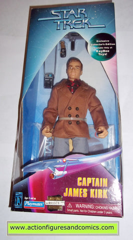 Star Trek CAPTAIN KIRK City on the edge of forever 9 inch playmates action figures moc mip mib