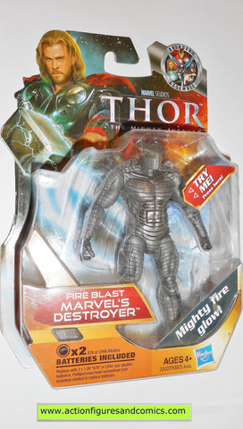 marvel universe DESTROYER fire blast thor movie hasbro man moc mip mib