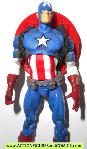 marvel universe CAPTAIN AMERICA ultimate avengers series 1 012 12 2009