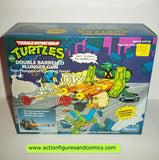 teenage mutant ninja turtles DOUBLE BARRELED PLUNGER GUN mib moc mip