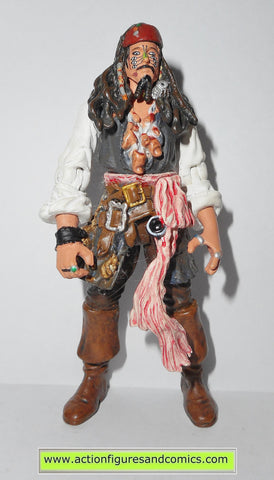 Pirates of the Caribbean JACK SPARROW CAPTAIN cannibal king 2007 action figures fig