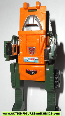 Transformers generation 1 BRAWN 1984 complete vintage G1 one