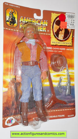American Frontier Mego style retro WILD BILL HICKOCK DSI toys 8 inch action figures