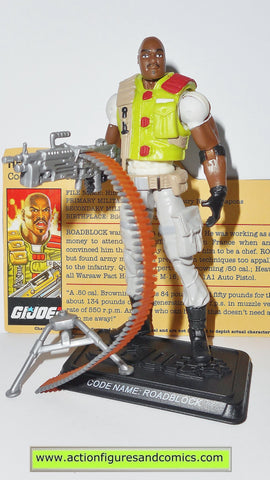 gi joe ROADBLOCK 2008 v17 25th anniversary hasbro toys action figures