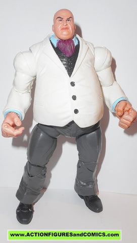 marvel legends KINGPIN white daredevil face off toy biz walmart