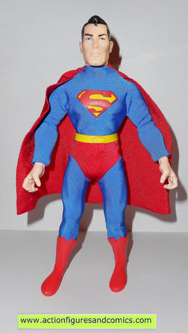 dc universe super heroes SUPERMAN Silver age 9 inch hasbro toys action figures retro mego