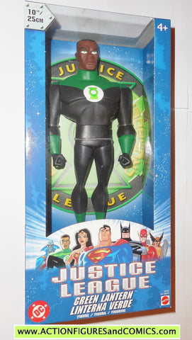 justice league unlimited GREEN LANTERN jon stewart 10 INCH 2003 dc universe action figures moc mib